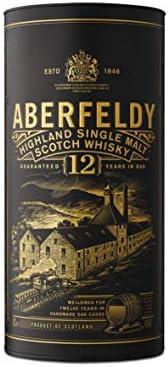Aberfeldy Old Highland Single Malt 12 años Whisky Escocés - 700 ml