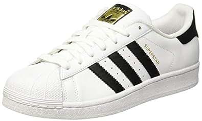adidas Australia Men's Superstar Trainers, Footwear White/Core Black/Footwear White, 6.5 US