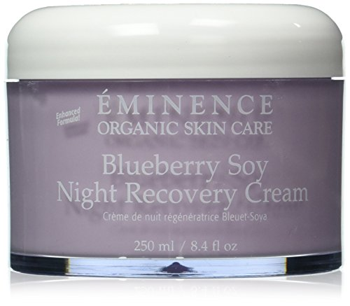 Eminence Blueberry Soy Night Recovery Cream, 8.4 Ounce - Blueberry Soy Night Recovery Cream