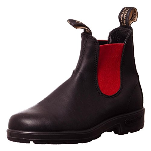 Blundstone 587 - Classic, Unisex Adults' Chelsea Boots Nero/rosso