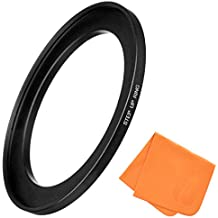 72mm to 77mm Step-Up Lens Adapter Ring for Camera Lenses & Camera Filters, Made of CNC Machined Aluminum with Matte Black Electroplated Finish, Ultra-Slim, Highly Durable Step-Up Ring by Fire Filters