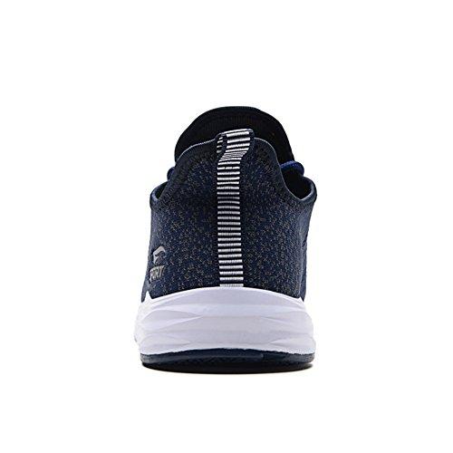 Sneakers Sportive Donna Fitness Respirabile Uomo Outdoor Basket Basse Fexkean Sport Blue Mesh Running Scarpe da Ginnastica qBCUYaw