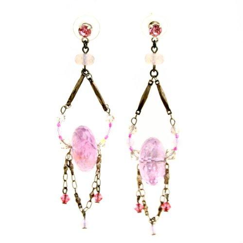 Erickson Beamon dangling Nightshade earrings (3 1/4