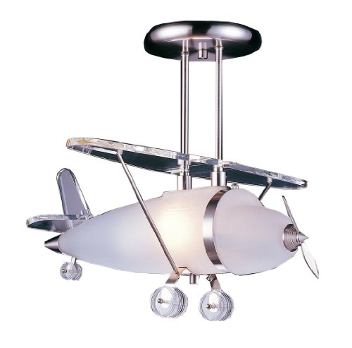 Airplane Pendant Light Fixture in US - 1