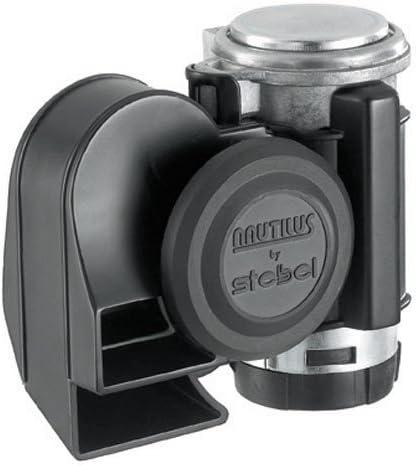Amazon.com: Stebel Nautilus Compact Motorcycle Air Horn - Loud - Black: Automotive