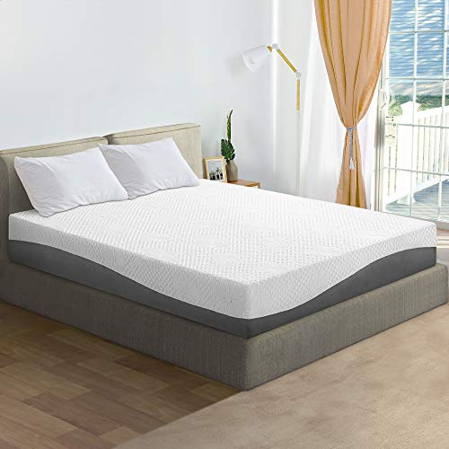 Olee Sleep 10 inch Aquarius Memory Foam Mattress – Twin