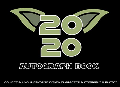 My 2020 Autograph Book: War baby- Capture all of the magic in this autograph book with a double page for 45 character signatures and space to stick in ... including Disney World and Disneyland Parks.
