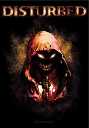 Disturbed - Character Textile Poster