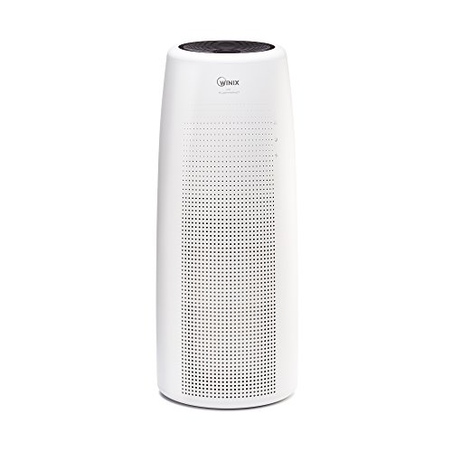 Winix NK105 Wifi Enabled Truehepa Tower Air Purifier, White, Large