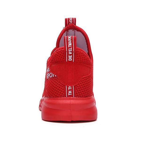 Thlppe Baskets Garçon Filles Antidérapantes Respirant Chaussure de Course