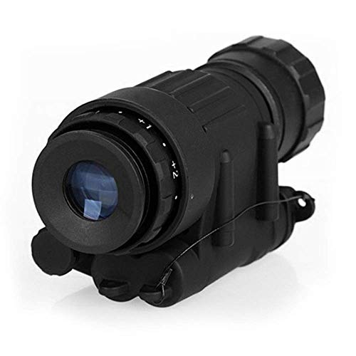 YTBLF Pvs-14 Tactical Hunting Night Vision Infrared monocular Powerful high-Definition Digital Infrared Night Vision Device Helmet