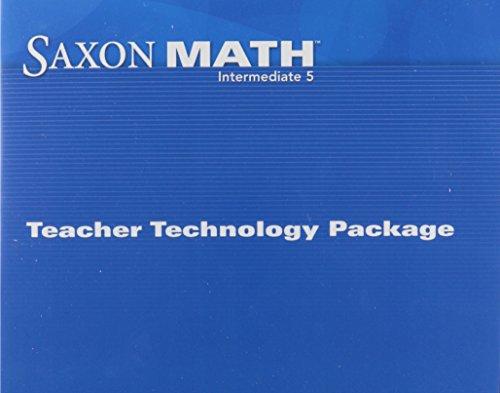 Saxon Math Intermediate 5: Technology Pack