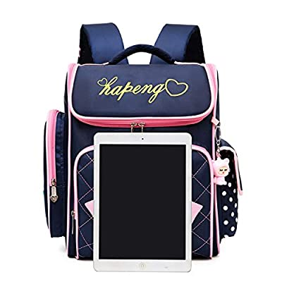Meetbelify Trolley Backpack Elementary Middle School Rolling Backpack on wheels Waterproof BookBag with Lunch Bag for Kids Girls | Kids' Backpacks