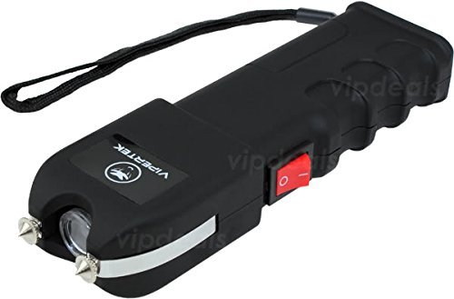 VIPERTEK VTS-989 - 230 Million Volt Self Defense Stun Gun LED Wholesale Lot (Vipertek Vts 989 Heavy Duty Stun Gun)