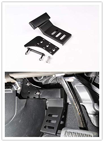 luminum Alloy Dead Pedal Pads Left Side Foot Rest Kick Panel for Jeep Wrangler JL 2018 Up ()