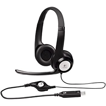 logitech usb headset h360 home audio theater. Black Bedroom Furniture Sets. Home Design Ideas