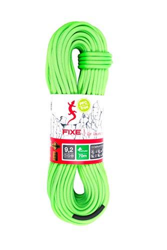 (Roca 9.2 Dominator Standard Dry Climbing Rope - 80 Meter - Green)