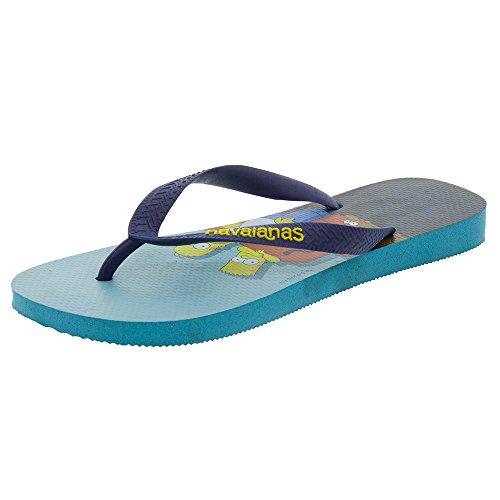 44 Zehensandale 43 Havaianas Blue Simpsons x4InwqC0OU