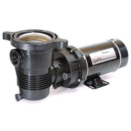 Pentair 347987 OptiFlo Vertical Discharge Aboveground Pool Pump with Cord and Twist Lock Plug, 1 HP by Pentair