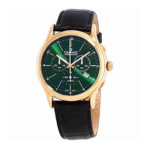Charmex Green Dial Chronograph Mens Watch 2914