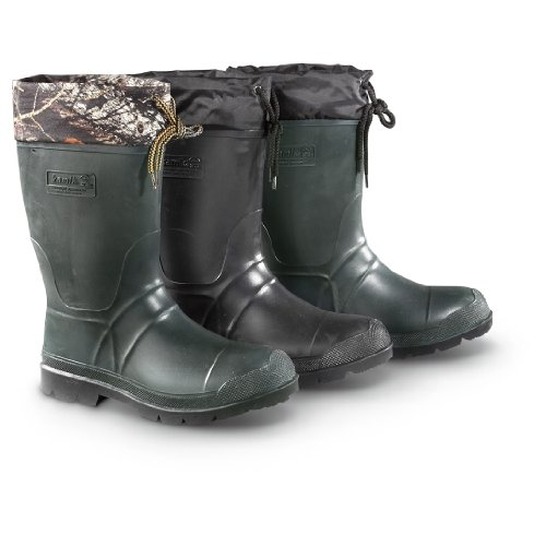 insulated waterproof rubber boots - 5