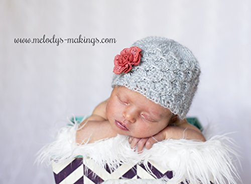 Smock Stitch Beanie Crochet Pattern, All Baby, Toddler, Child, and Adult Sizes Included
