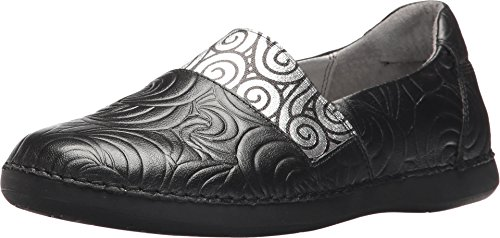 Alegria Women's Glee Flat Black Swirly Stamp 36
