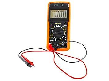 Bricolage Dt9205 A Voltmètre Multimètre Numérique Ampèremètre Testeur De Capacité 9 V Autres