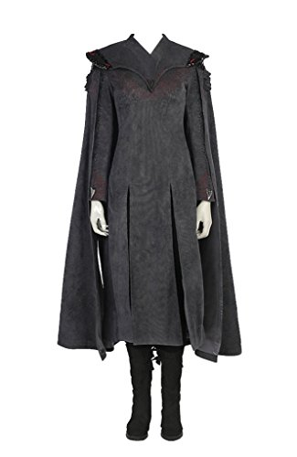 Daenerys Targaryen Costume Season 4 (Women Halloween Costume for Daenerys Targaryen Cosplay Custom Made Fullset)