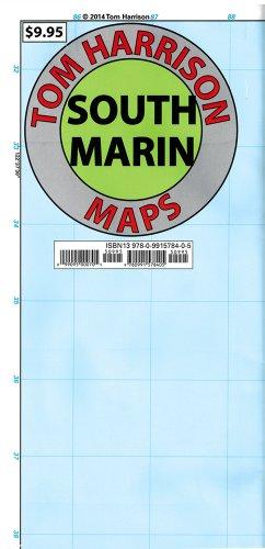 - South Marin (CA) Map (Tom Harrison Maps)