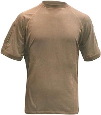 Gray 100/% Cotton Voodoo Tactical 01-9583 Short Sleeve Combat Shirt