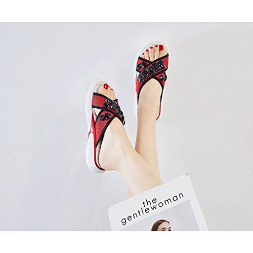 Shoes Slippers 5 Summer Wear Female 5 Fashion Sports Sandals Size qOZwXw