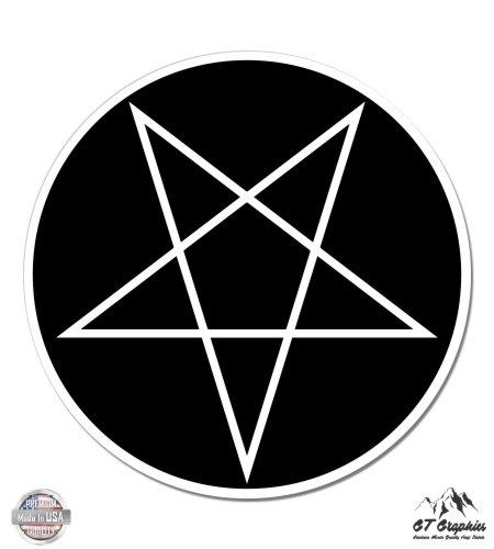 Inverted Pentagram Vinyl Sticker Waterproof Decal