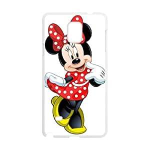 Samsung Galaxy Note 4 Cell Phone Case White Disney Mickey Mouse Minnie Mouse as a gift H4099494