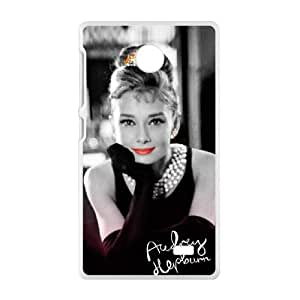 COBO Audrey Hepburn Cell Phone Case for Nokia Lumia X