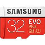 Samsung EVO Plus 32  GB Memory Card Class 10 with Adapter Micro SD Cards