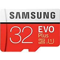 Samsung EVO Plus 32 GB Memory Card Class 10 with Adapter