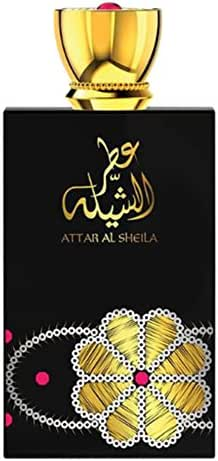 Attar Al Sheila for Women 100mL | Leather Floral Eau De Perfume with Honey Suckle, Magnolia, Jasmine, Iris, Rose and alluring spices | by Oud Fragrance Artisan Swiss Arabian | Spray Parfum