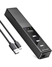 J JOYACCESS 3 in 1 Computer Speakers with Hubs, USB Speaker Conference Speaker, PC Speaker for Video Conference/Recording/Skype/Online Class, Plug & Play Compatible with Mac OS X Windows PC Computer