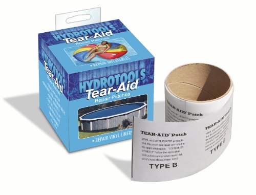 Swimline Tear Vinyl Liner Underwater Repair Tape (Vinyl Pool Liner Repair Kit Best)