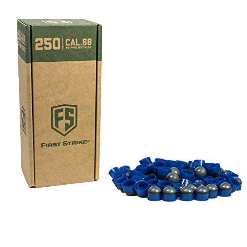 First Strike Paintballs (250 Count, Smoke/Blue Blue Fill) by First Strike