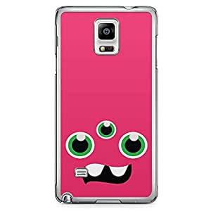 Loud Universe Pink 3 Eyed Monster Samsung Note 4 Case Monsters Inc Samsung Note 4 Cover with Transparent Edges