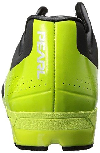 PEARL IZUMI 151170054TZ480 - Zapatillas ciclismo, 48, Negro - Lima, Hombre