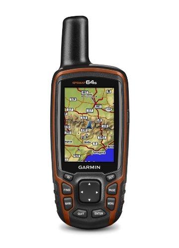 Garmin GPSMAP 64s GPS Hiking GPS Bundle | with Backpack Tether Mount | GPS/GLONASS Handheld | Rugged, Waterproof, Built-in Sensors