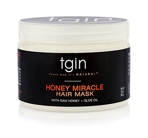 tgin Honey Miracle Hair Mask , Deep Conditioner for Natural