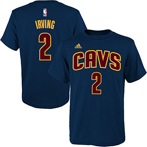 new style 4338f 21e59 durable service Kyrie Irving Cleveland Cavaliers  2 Boys NBA Name   Number  Jersey T-