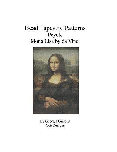 Bead Tapestry Patterns Peyote Mona Lisa by da Vinci