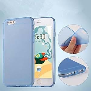 TL Cubierta Posterior - Color S¨®lido - para iPhone 6 ( TPU/Silicona )(Rosa)