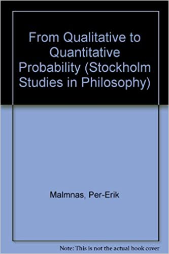 Book From Qualitative to Quantitative Probability (Stockholm Studies in Philosophy)
