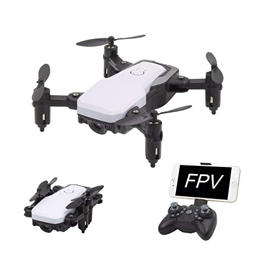 FPV RC Drone with Camera Live Video, Foldable Mobile APP Control Quadcopter with Altitude Hold Mode,One Key Return and Headless Mode,RC Helicopter for Kids Adults and Beginners